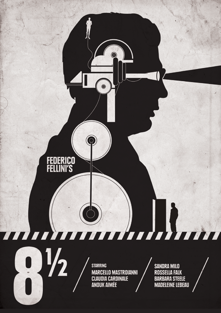 Fellini's-8-12-movie-poster-by-Needle-Design