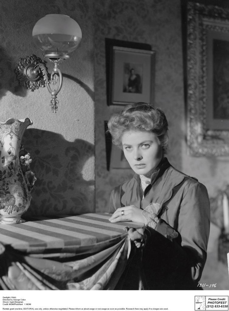 Gaslight (1944) Directed by George Cukor Shown: Ingrid Bergman